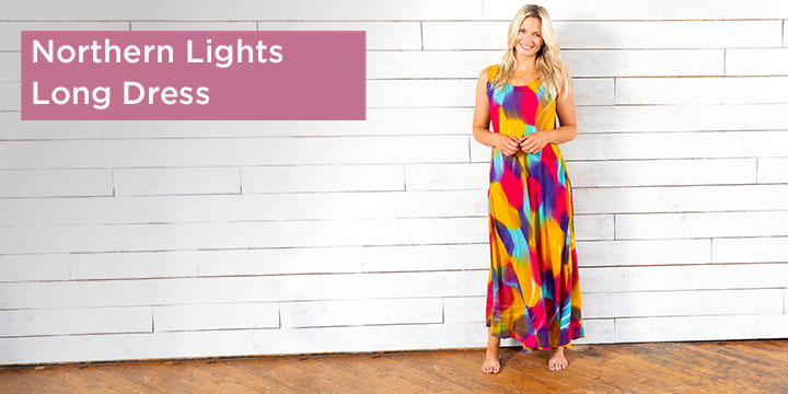 Northern Lights Long Dress