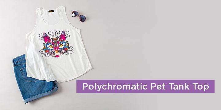 Polychromatic Pet Tank Top