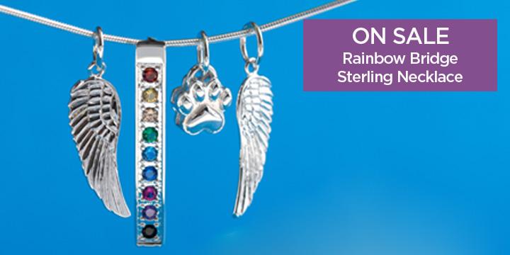 Rainbow Bridge Sterling Necklace