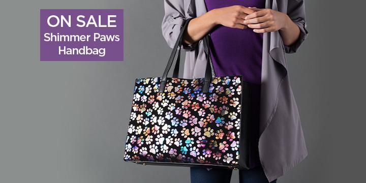 Shimmer Paws Handbag