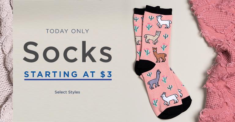 Super Sock Savings!
