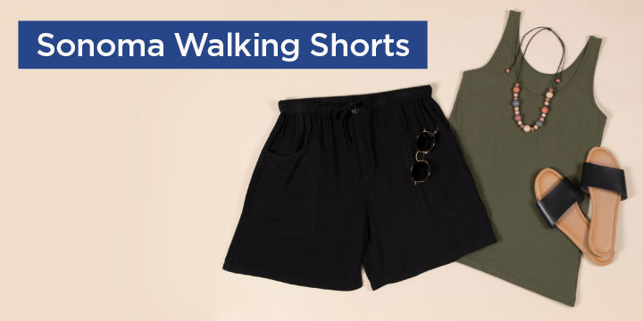 Sonoma Walking Shorts