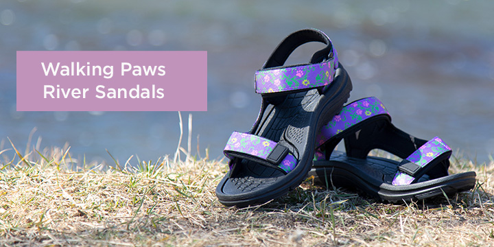 Walking Paws River Sandals