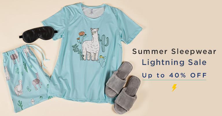 Summer Sleepwear Lightning Sale!