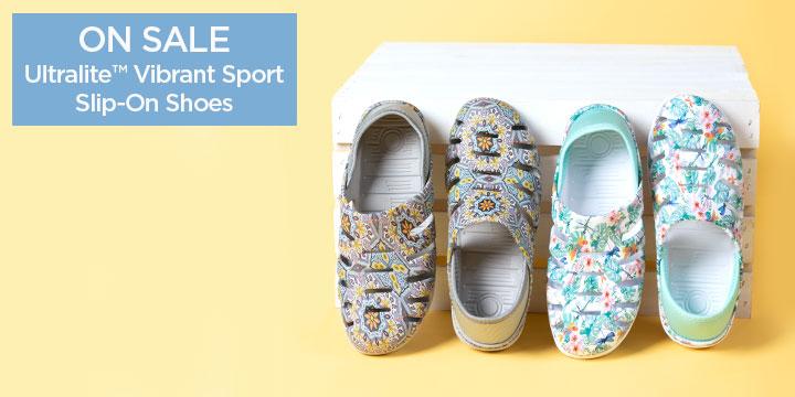 Ultralite™ Vibrant Sport Slip-On Shoes