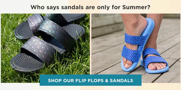 Shop our Collection of Flip Flops & Sandals