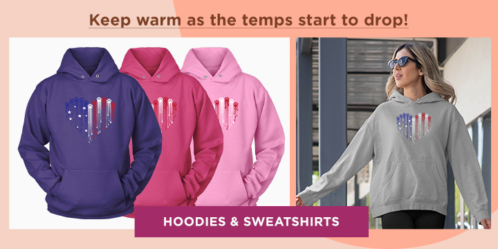 Shop our Collection of Hoodies & Sweatshirts