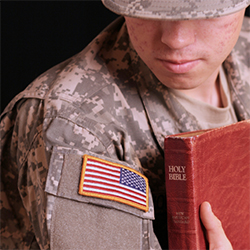 Ambiguous military rules leave those who share their faith vulnerable to disciplinary action.