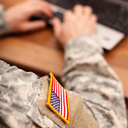 Support a bill that provides tax credits to businesses who hire veterans.