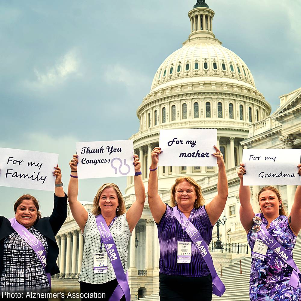 Demand Congress Fund Alzheimer's Research