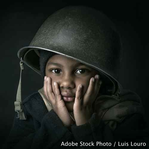 Show your support for Children, Not Soldiers campaign!