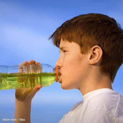 Prevent Childhood Obesity by Banning Athlete Endorsements of Sports Drinks!