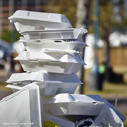 Polystyrene food containers are destroying our planet. Tell the EPA to ban them!