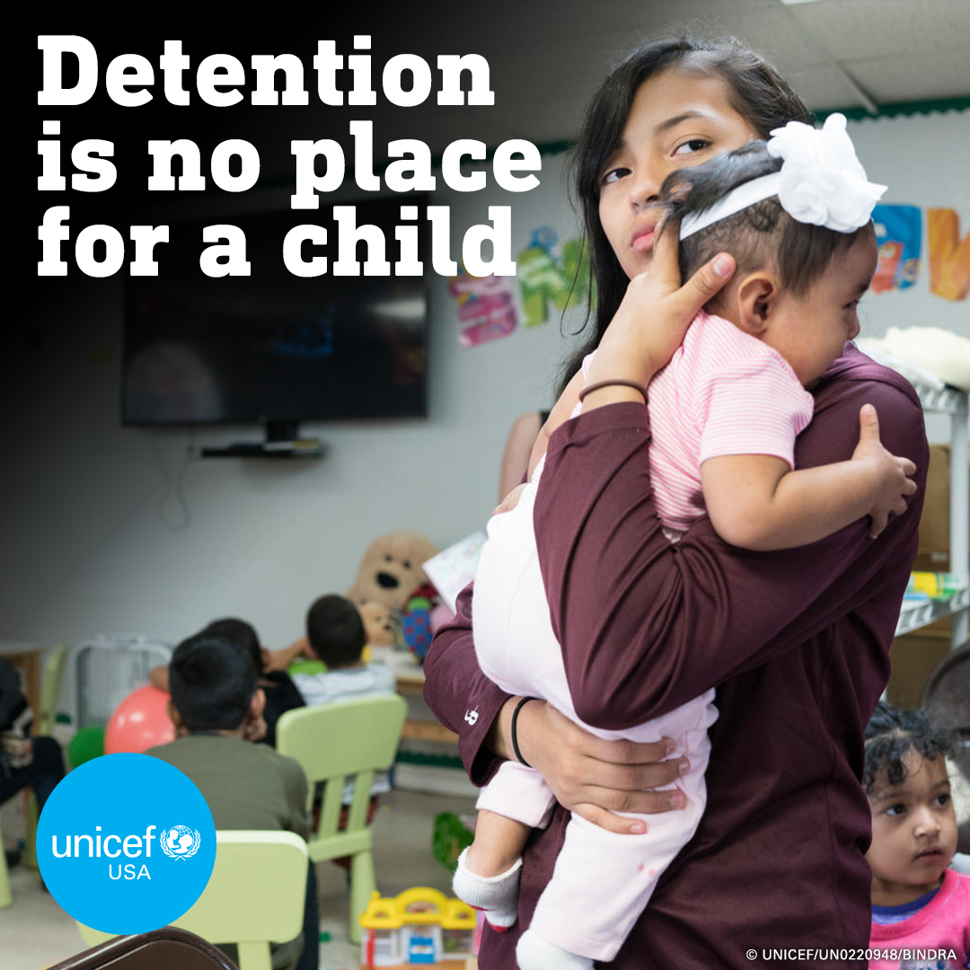 Speak Up Against the Indefinite Detention of Children in the US!
