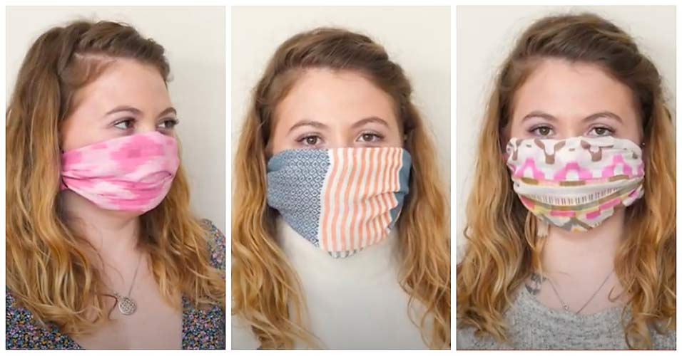 Make a Scarf Face Mask