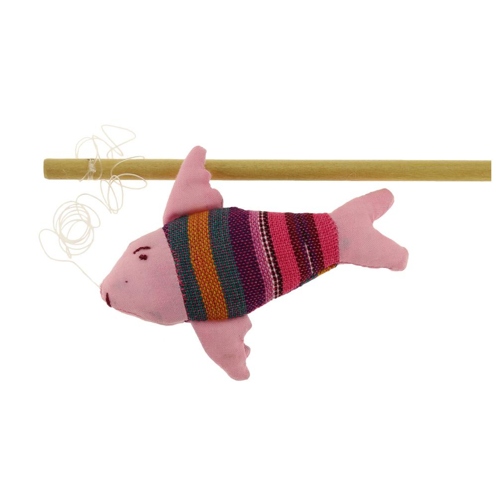 Fish on a stick cat toy the animal rescue site for Fish on a stick