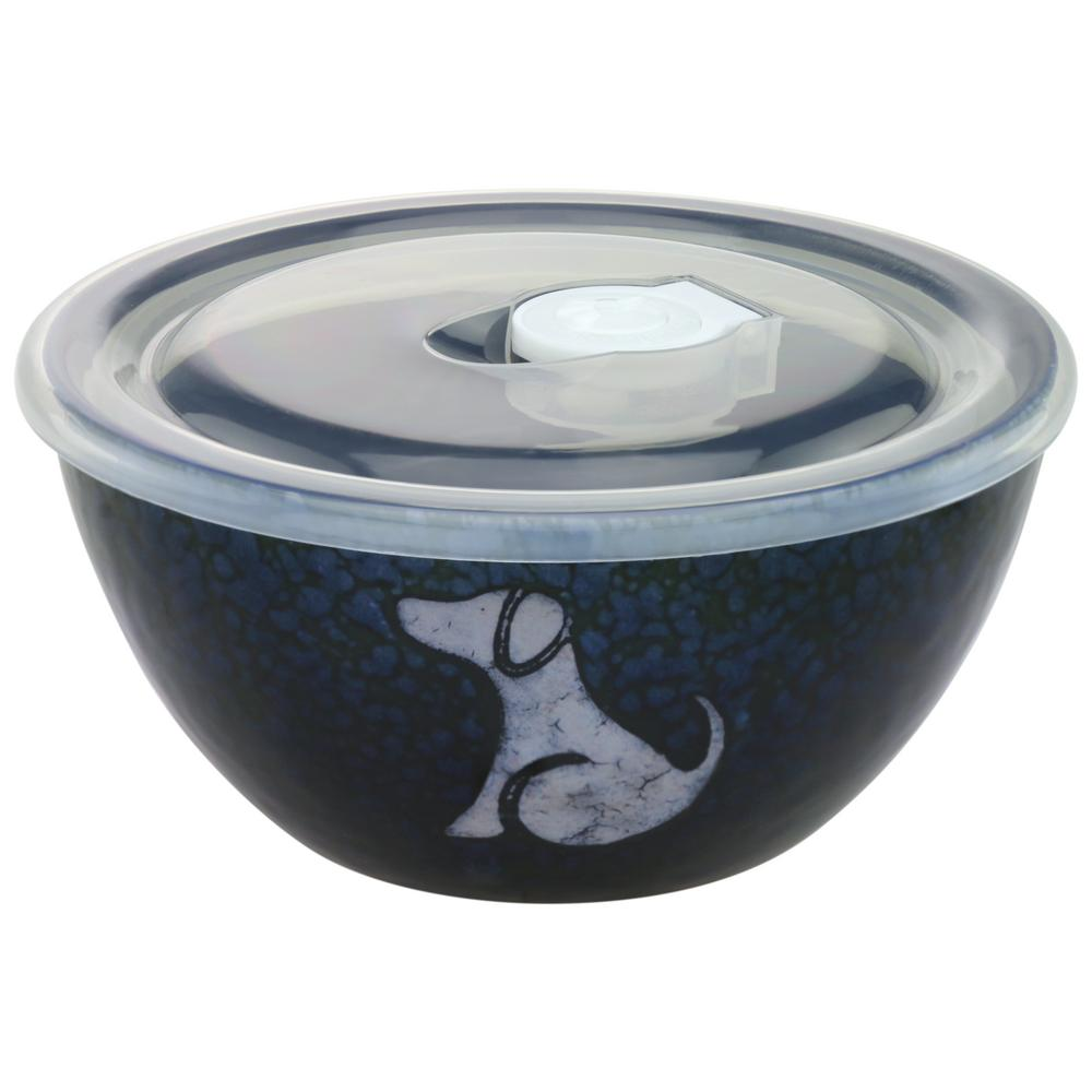 Moonlit Dog Soup Bowl Amp Lid The Animal Rescue Site