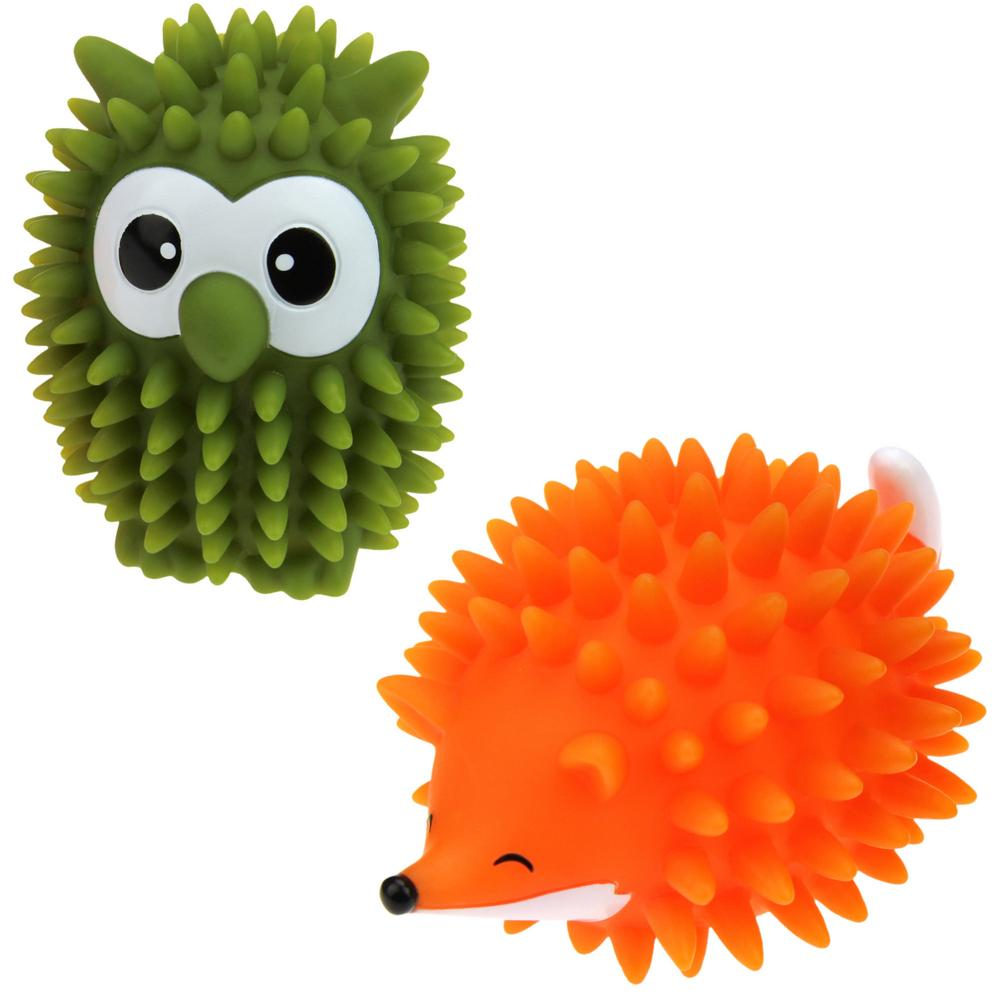 fox  owl dryer balls  set of   the animal rescue site - tap