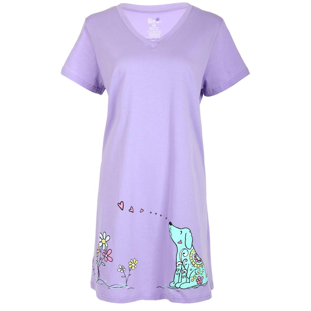 fb64e5a724 Smell the Flowers Dog Nightshirt