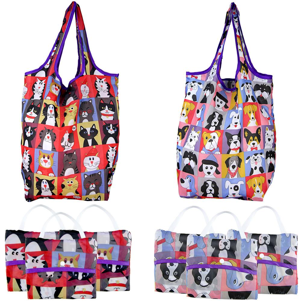 pet portrait compact shopping bags the animal rescue site