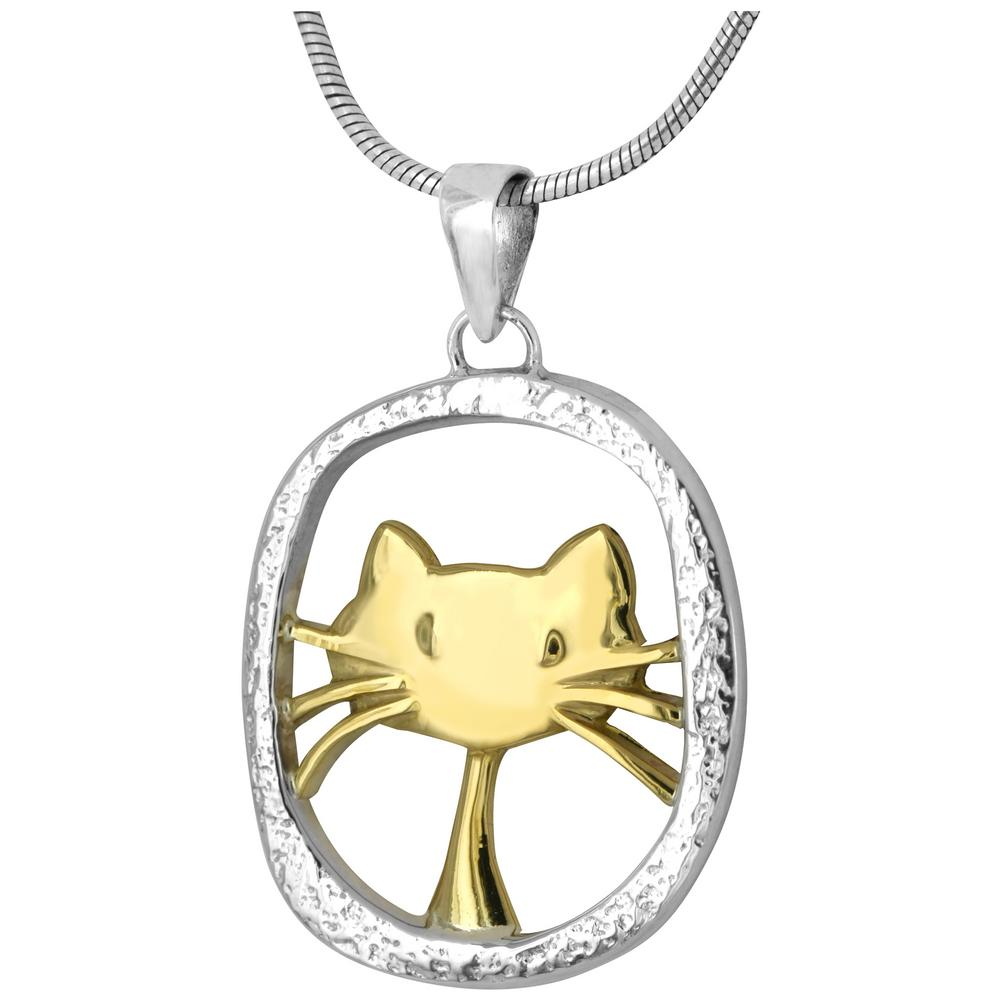 cute cat sterling necklace the animal rescue site