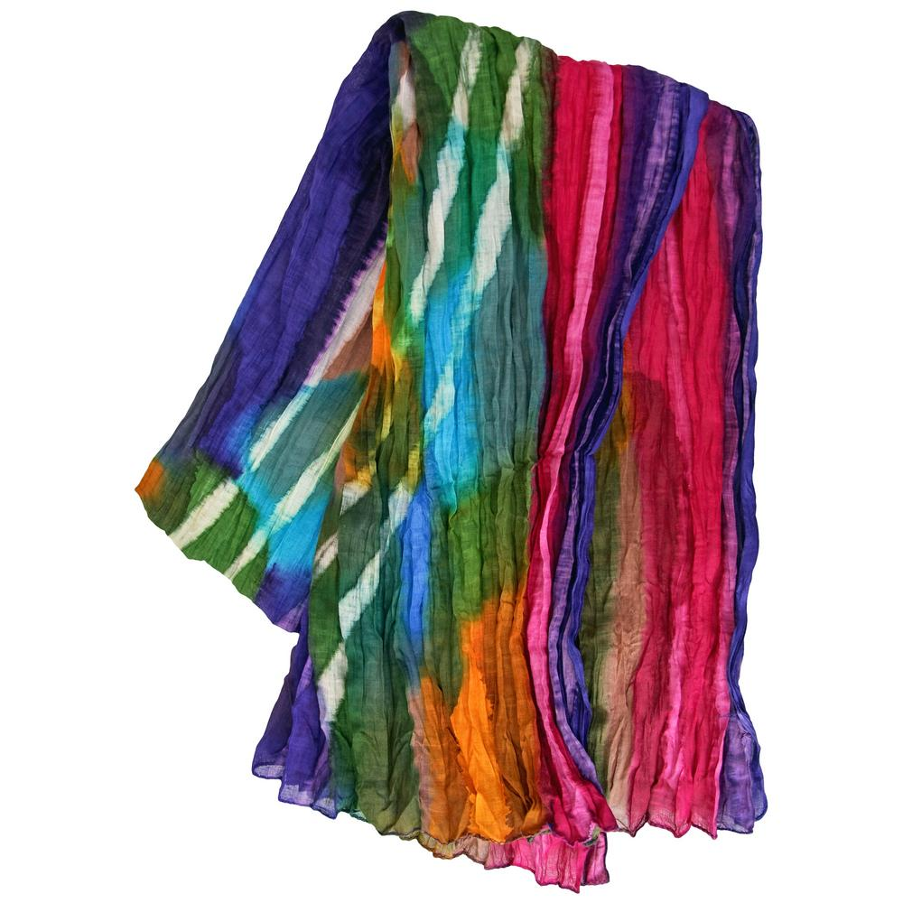 northern lights cotton scarf the hunger site