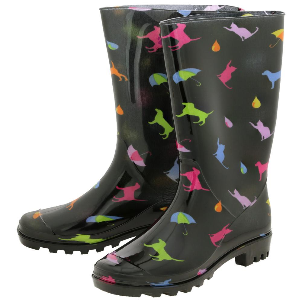 Raining Cats & Dogs Ultralite™ Rain Boots : The Animal Rescue Site