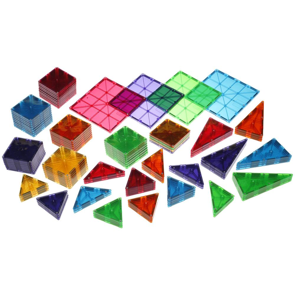 Tap Magna Tiles Clear Colors 100 Piece