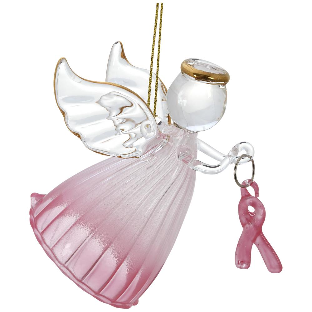 Breast cancer ornament - Tap
