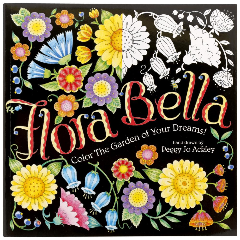Flora Bella Coloring Book Paperback The Animal Rescue Site
