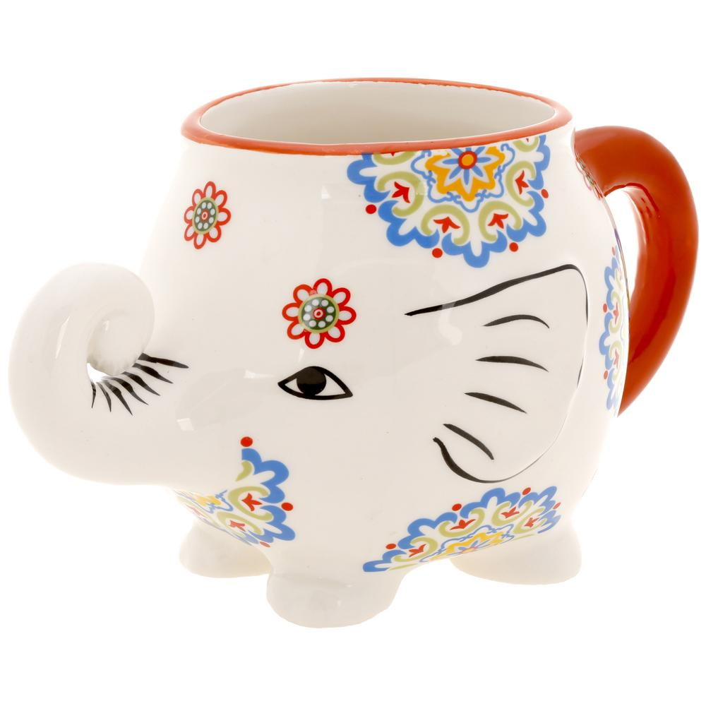 cup of joy elephant mug  the hunger site - tap