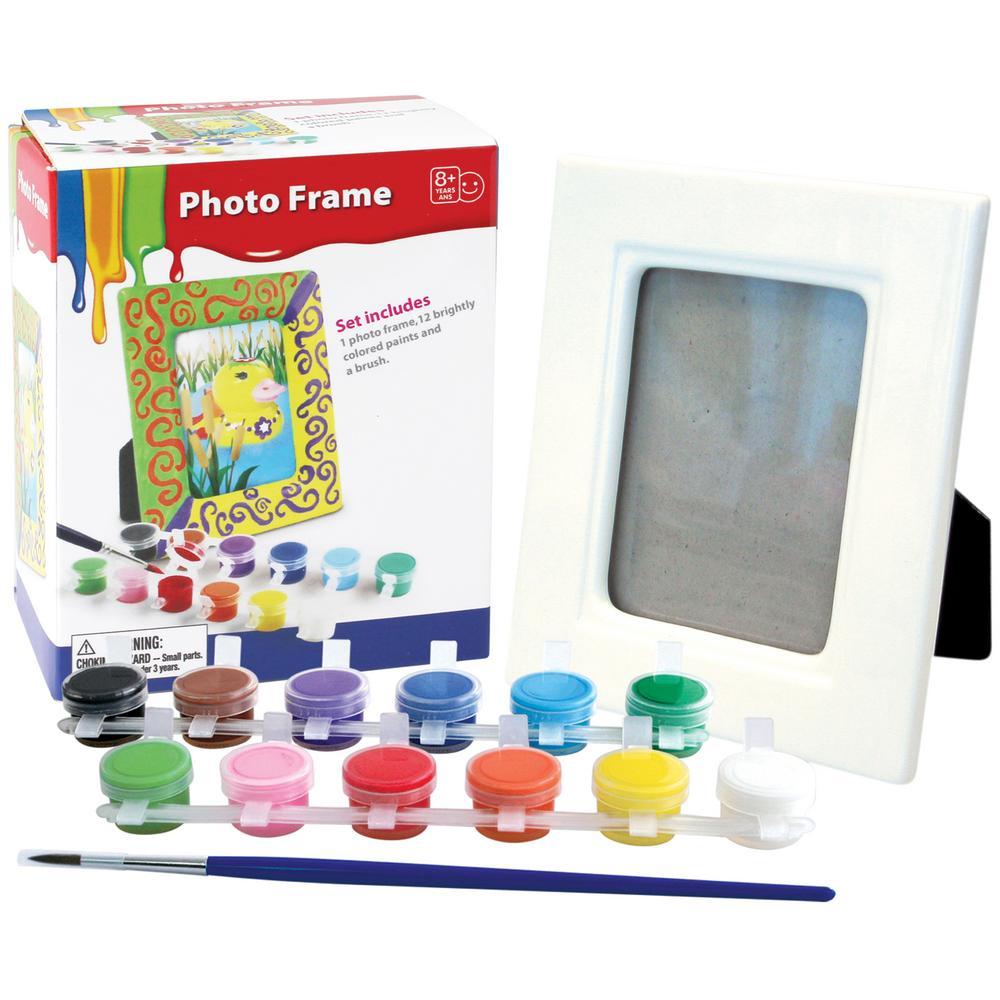 Paint Your Own Photo Frame Set Creative Kidstuff