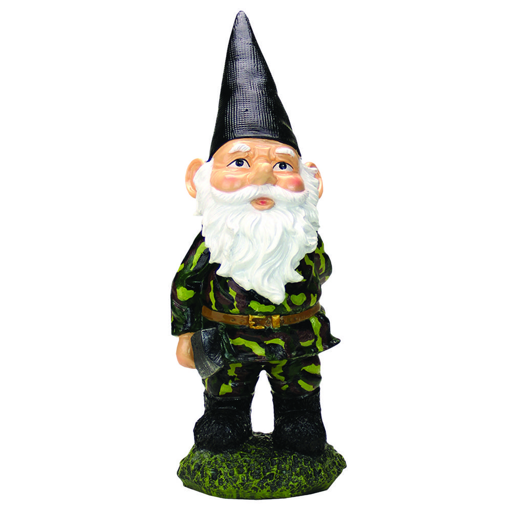 Garden Gnomes On Sale: Camouflage Garden Gnome : The Hunger Site