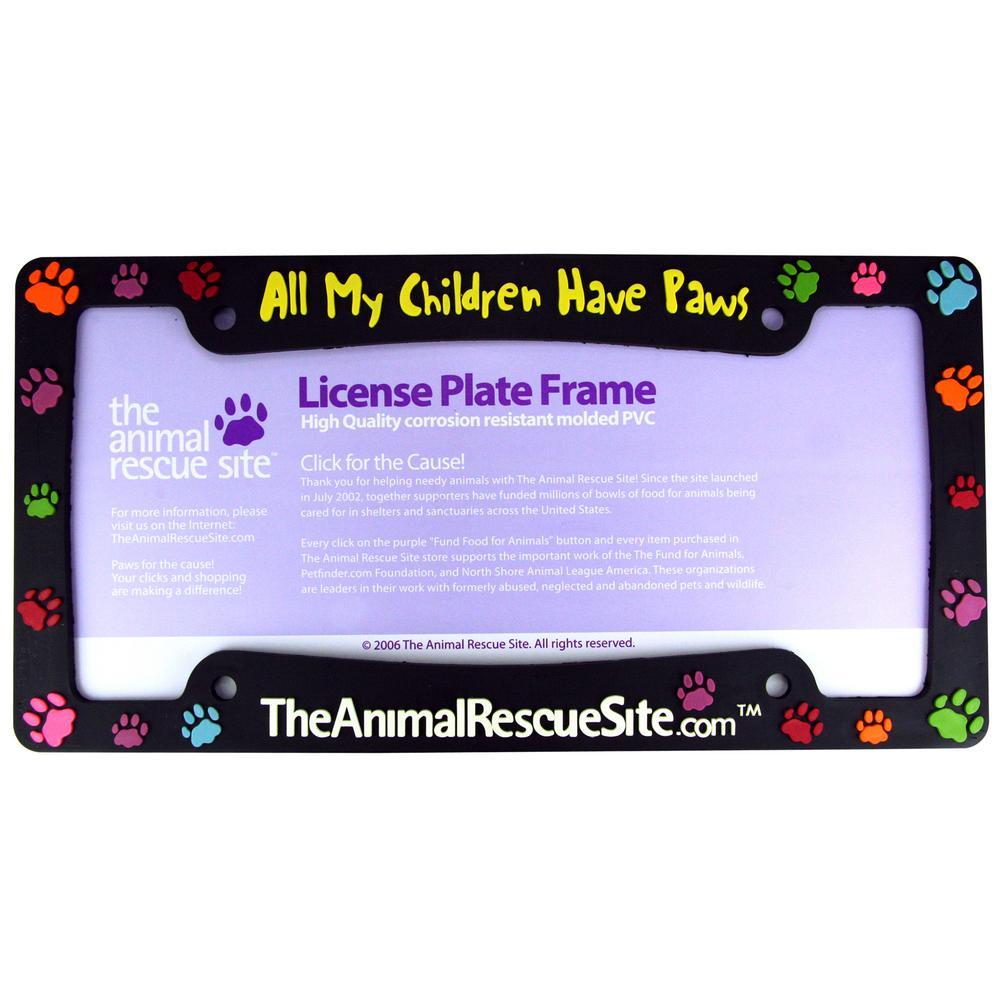 tap - Dog License Plate Frames