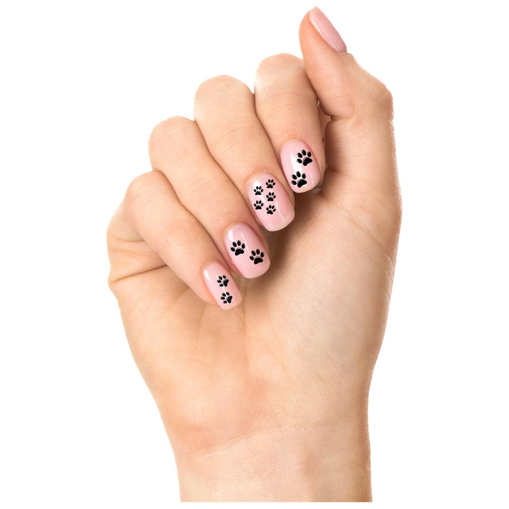 Paw Print Nail Art : The Animal Rescue Site