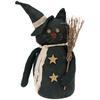 Bewitching cat figurine