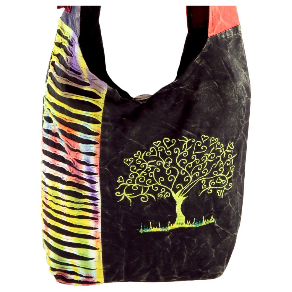 Tree of Life Embroidered Hobo Bag : The Hunger Site