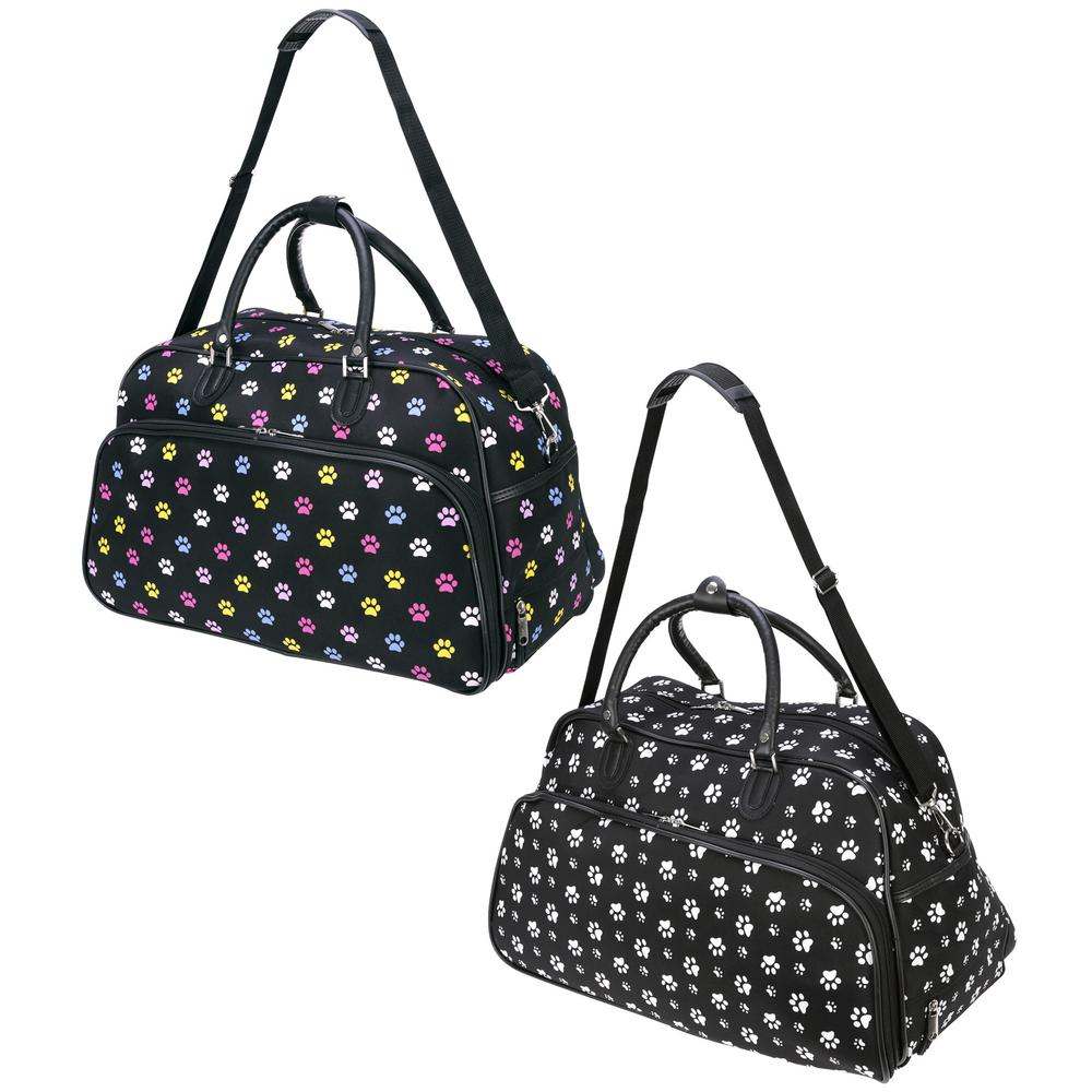 paw print rolling duffle bag the animal rescue site