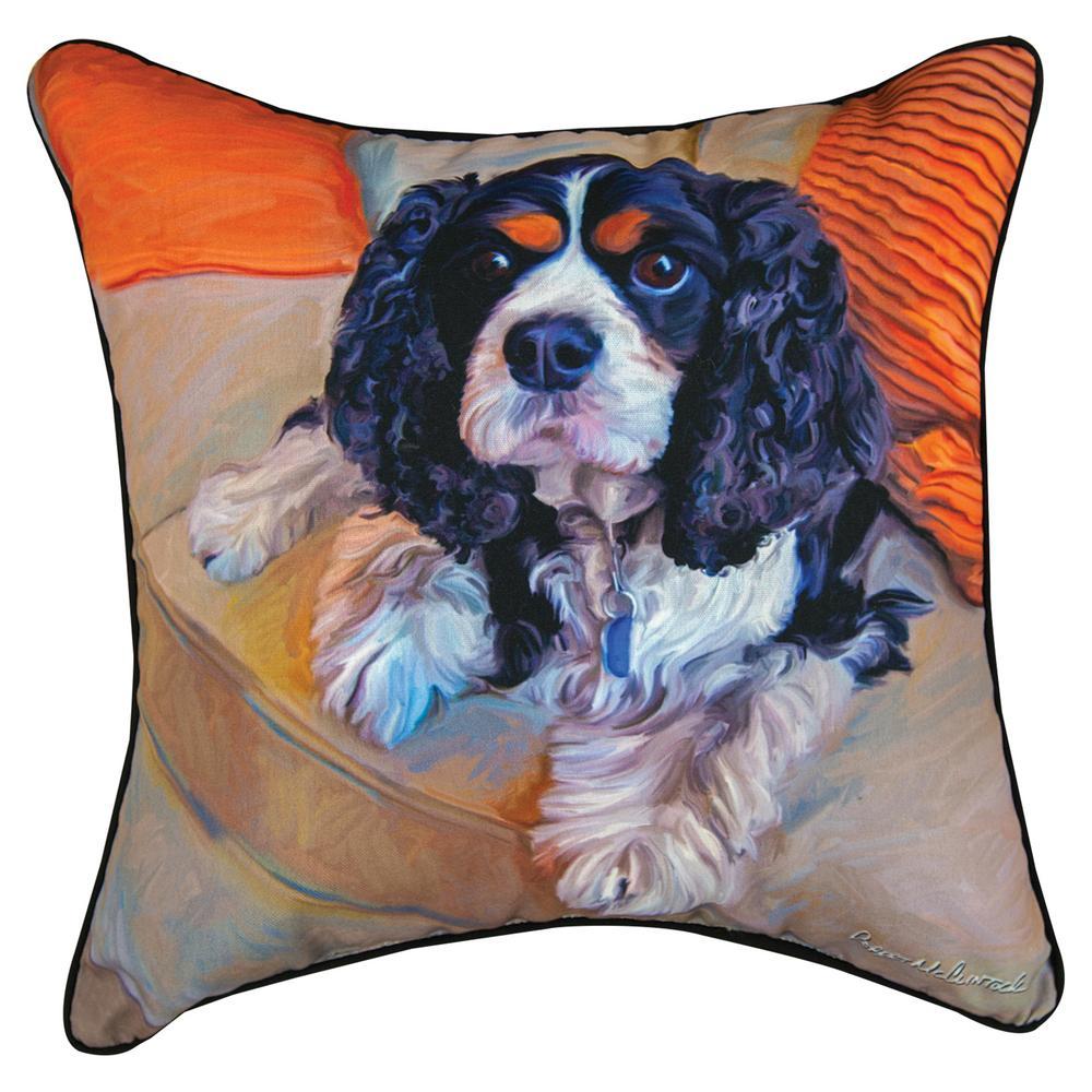 King Charles Spaniel Throw Pillow : The Animal Rescue Site