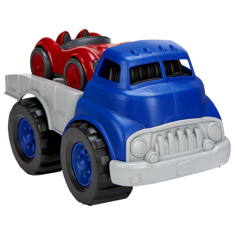 Green Toys Race Car : Green toys™ flatbed truck race car the animal rescue site