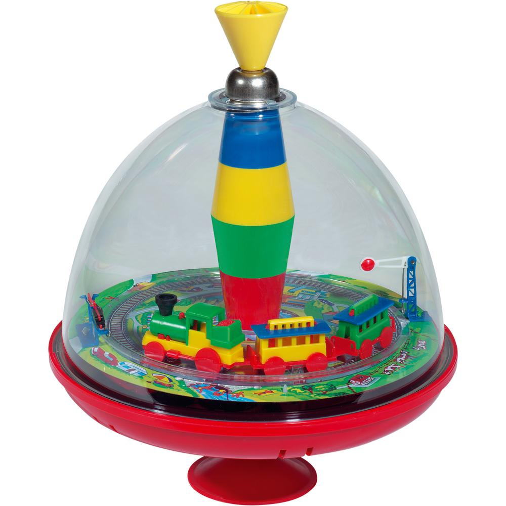 Bolz musical train spin top the rainforest site for 10x10 roll up door for sale