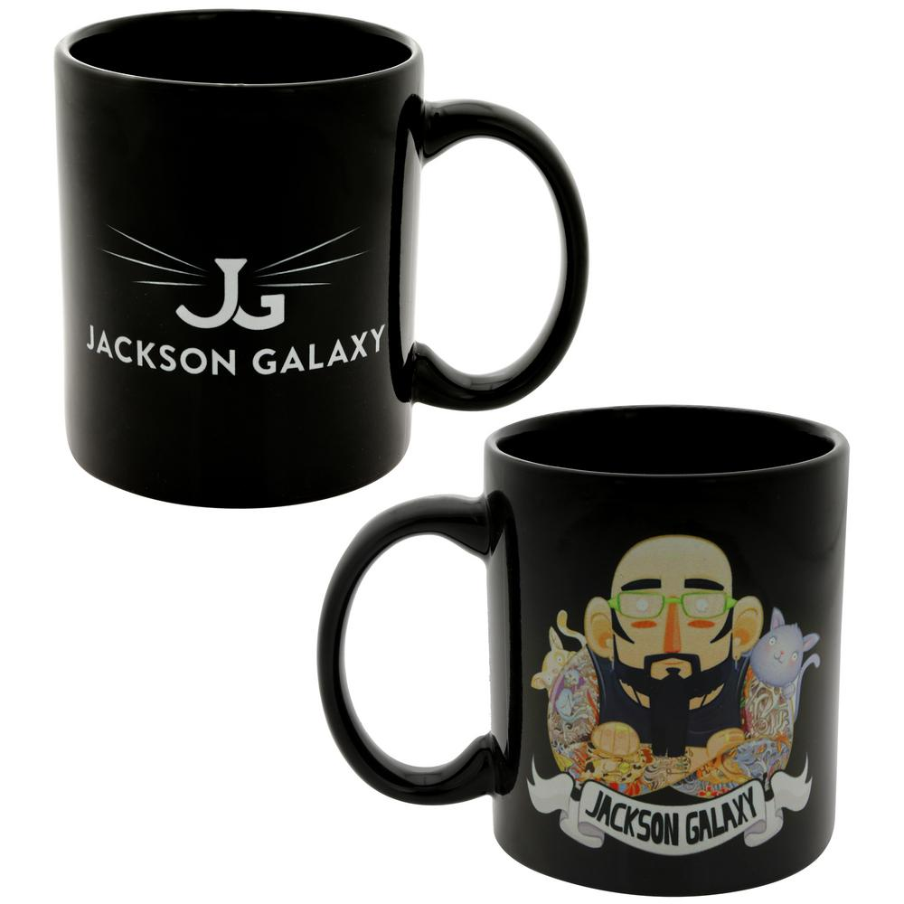 Jackson galaxy cartoon mug the animal rescue site for Jackson galaxy shop
