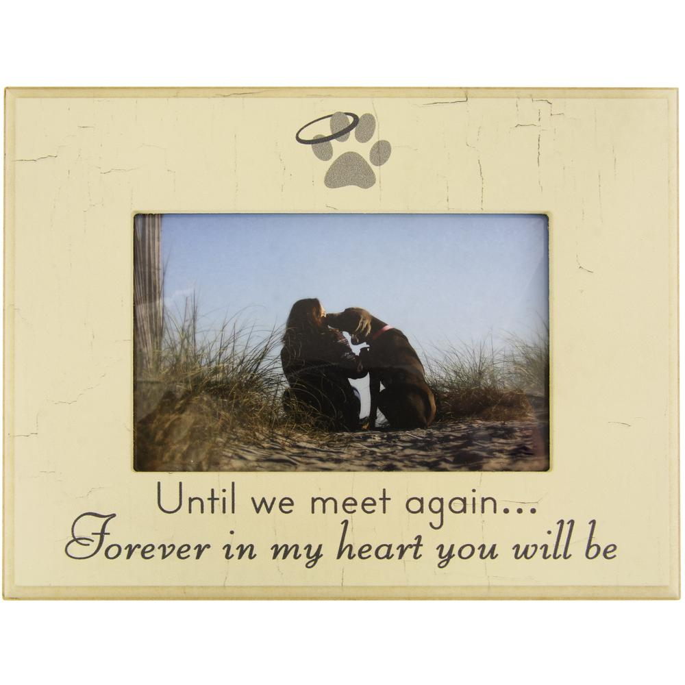 Until We Meet Again Pet Memorial Frame : The Animal Rescue Site