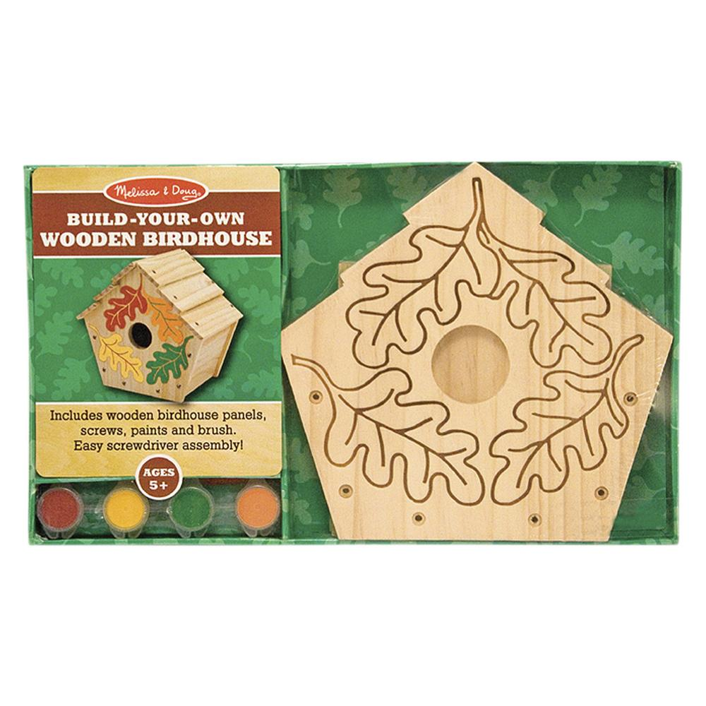 Build Your Own Wooden Birdhouse Kit Creative Kidstuff