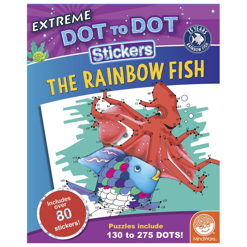 The Rainbow Fish Extreme Dot to Dot™ Sticker Book : The Animal ...