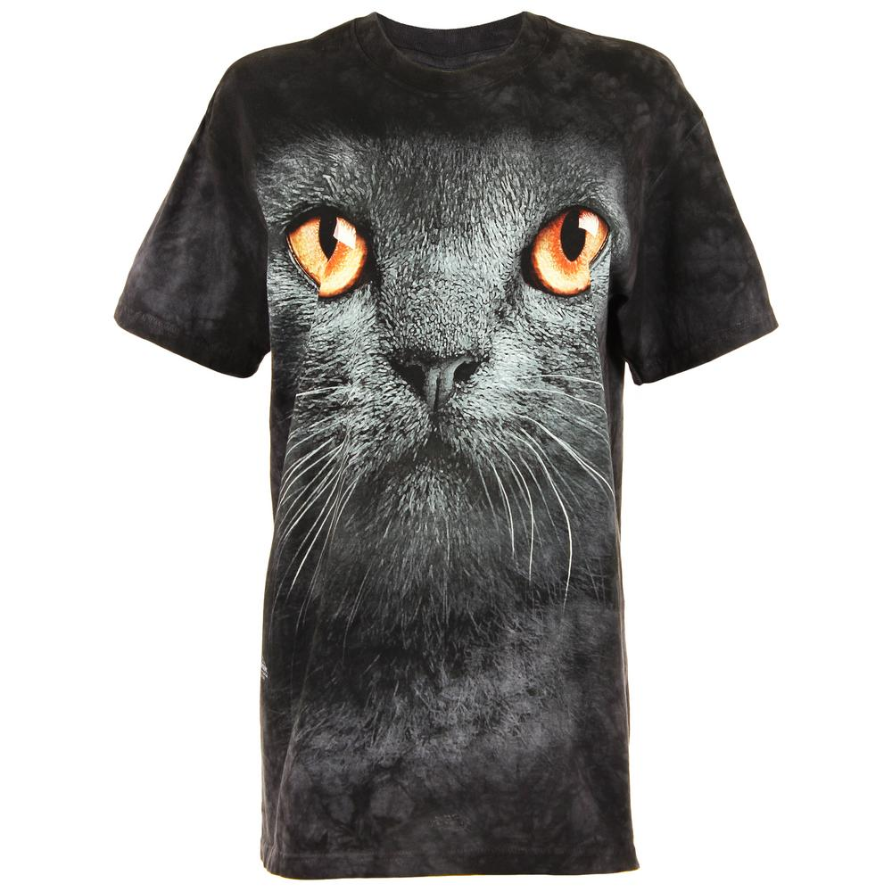 Black Cat Face T Shirt The Animal Rescue Site