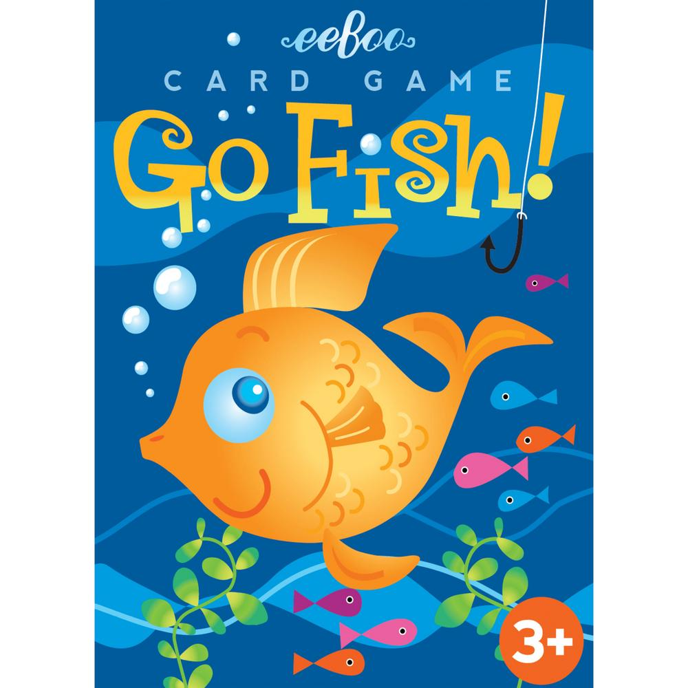 Color go fish card game the animal rescue site for Fish card game