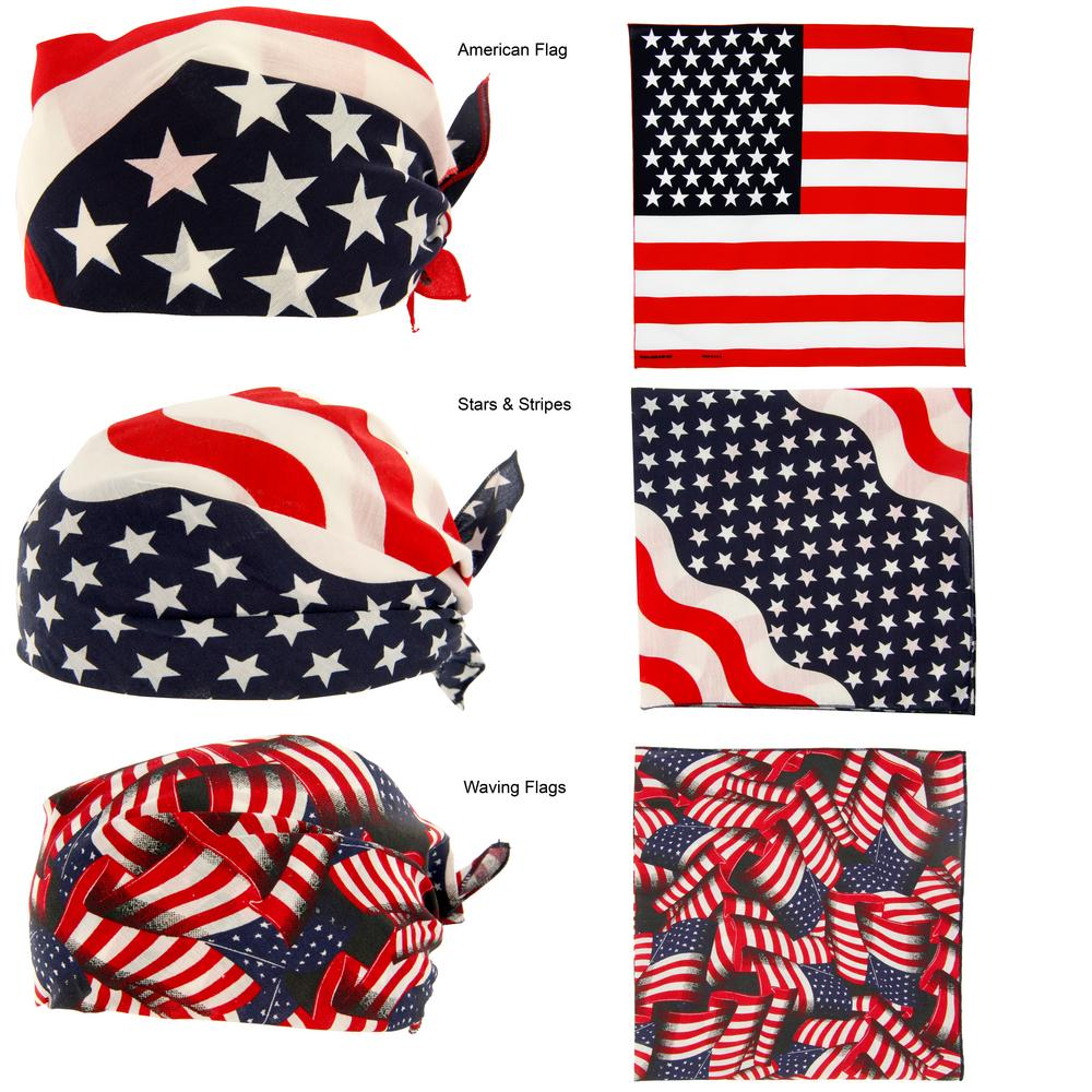 American Flag Bandana The Veterans Site