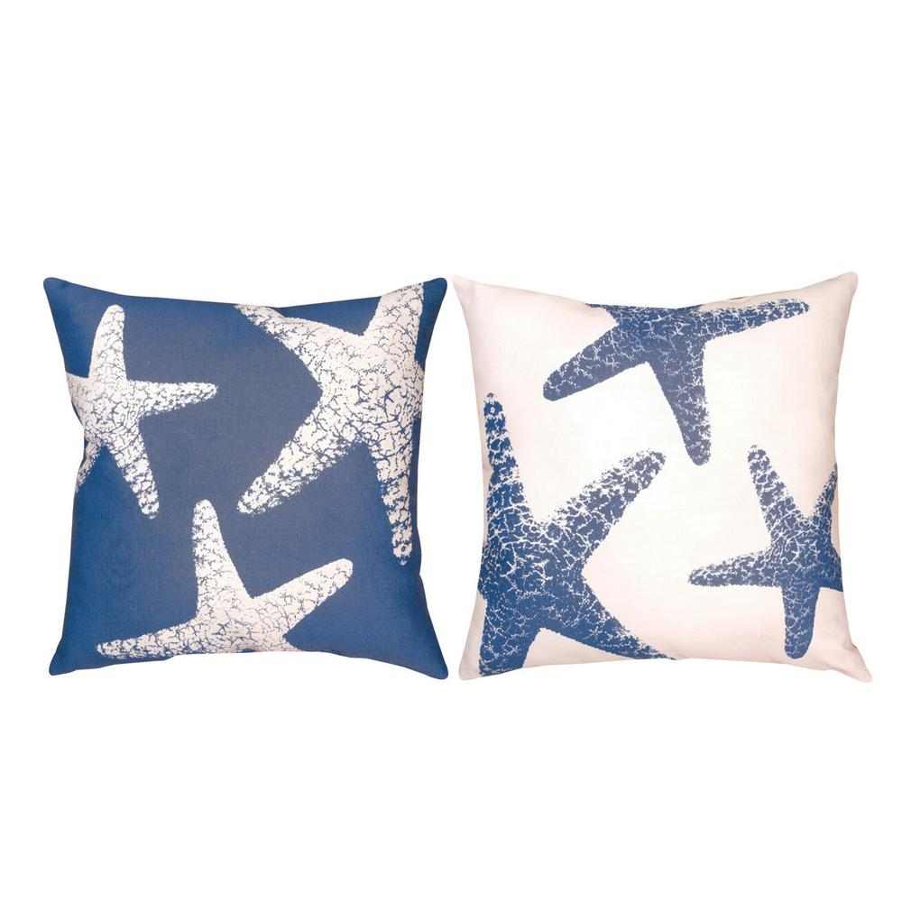 Throw Pillow Website : Starfish Throw Pillow : The Animal Rescue Site