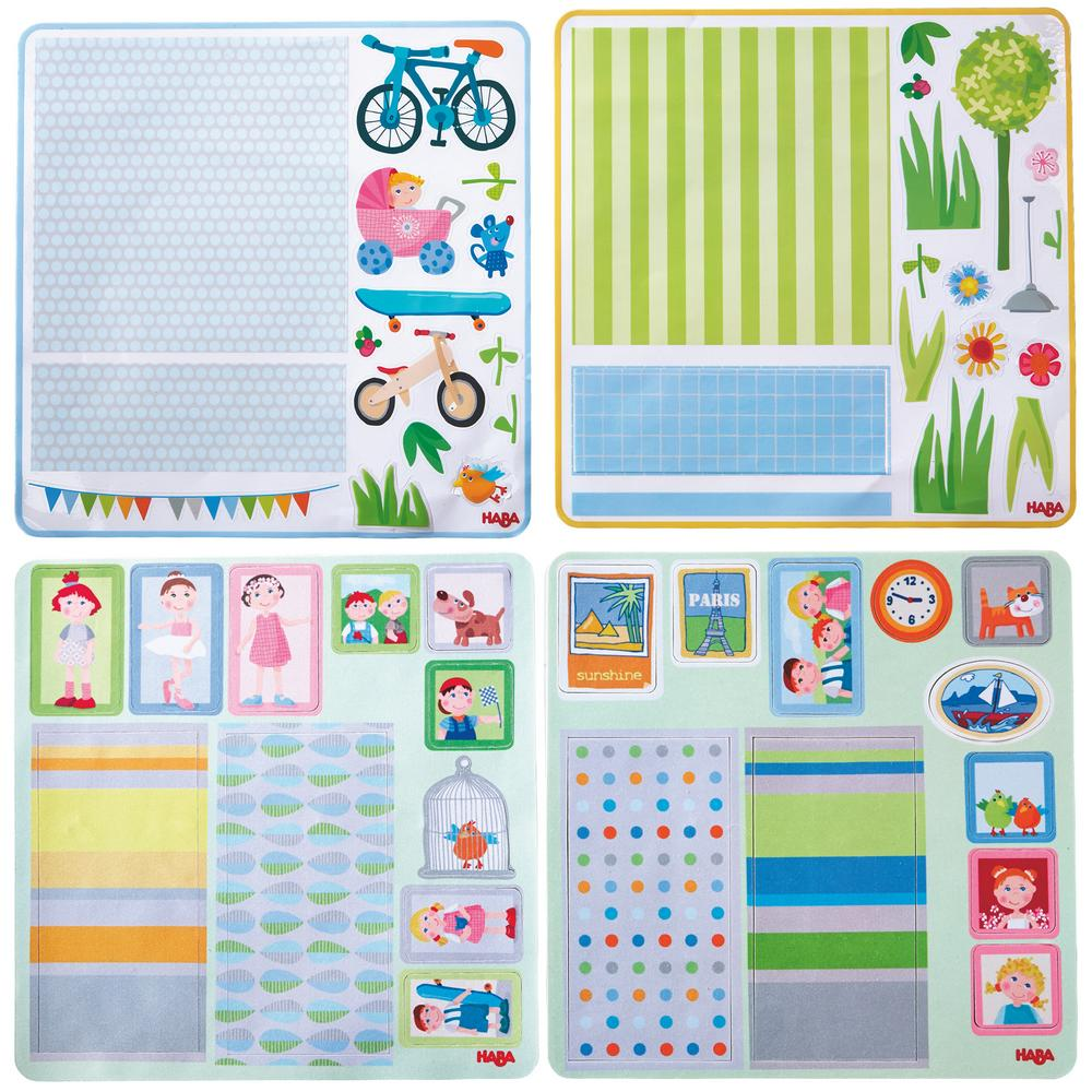 Little friends dollhouse decor decals set creative kidstuff for Dollhouse mural